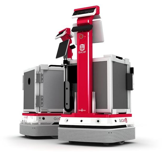 Корейская компания Yujin разрабатывает робота по доставке еды