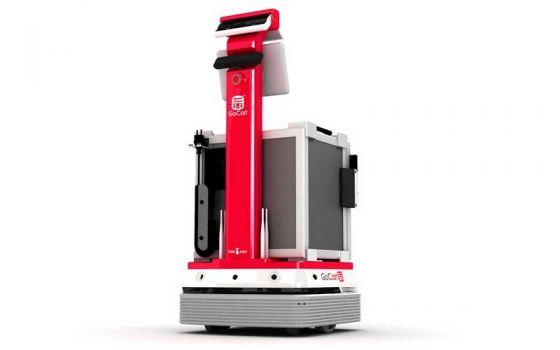 Корейская фирма Jujin Robot запускает робота для доставки пищи
