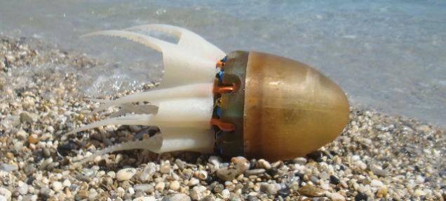 Робот-осьминог, вероятно, самый большой кошмар Капитана Немо!