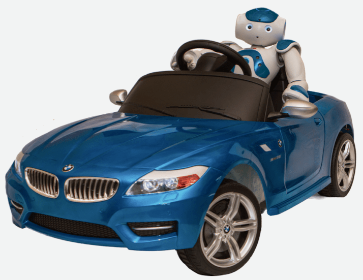 Робот по имени Nao учится водить собственную машину
