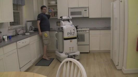 Метки с системой радиочастотной идентификации помогают домашнему роботу найти спрятанные предметы