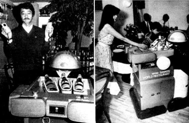 Взлет и падение робота-официанта Ken-chan