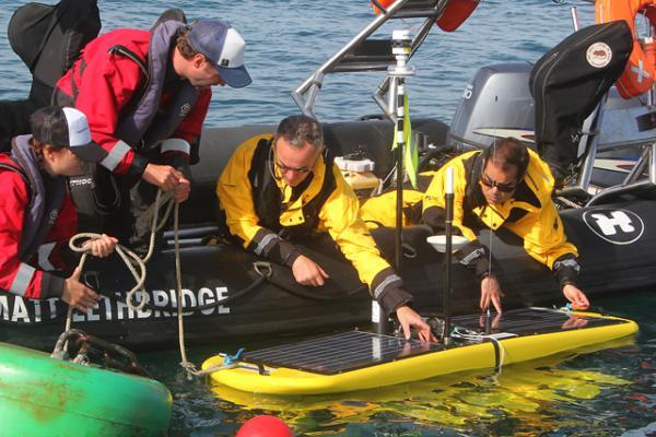 Британский Национальный океанографический центр запускает крупную беспилотную миссию