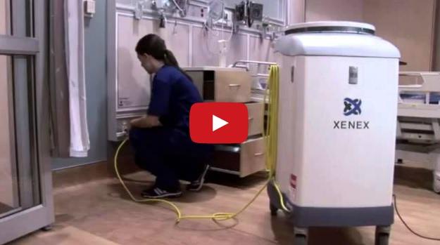 В Техасе роботы сражаются с вирусом Эбола