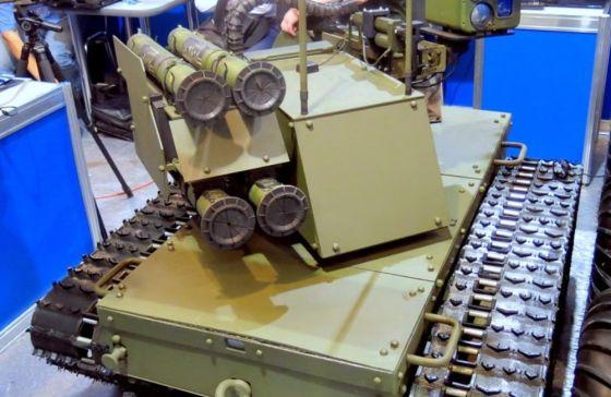 Аэромобильные роботы вышли на учения в Подмосковье