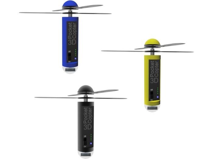 3Д ПокетКоптер – новая летающая камера!!!