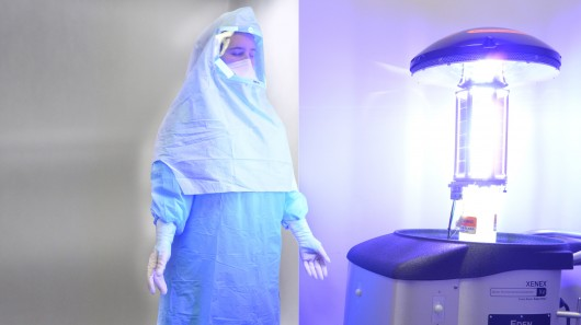 Xenex усовершенствует робота для борьбы с вирусом Эбола