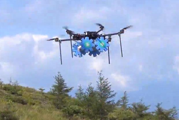 Роботы для мониторинга вулкана в Японии