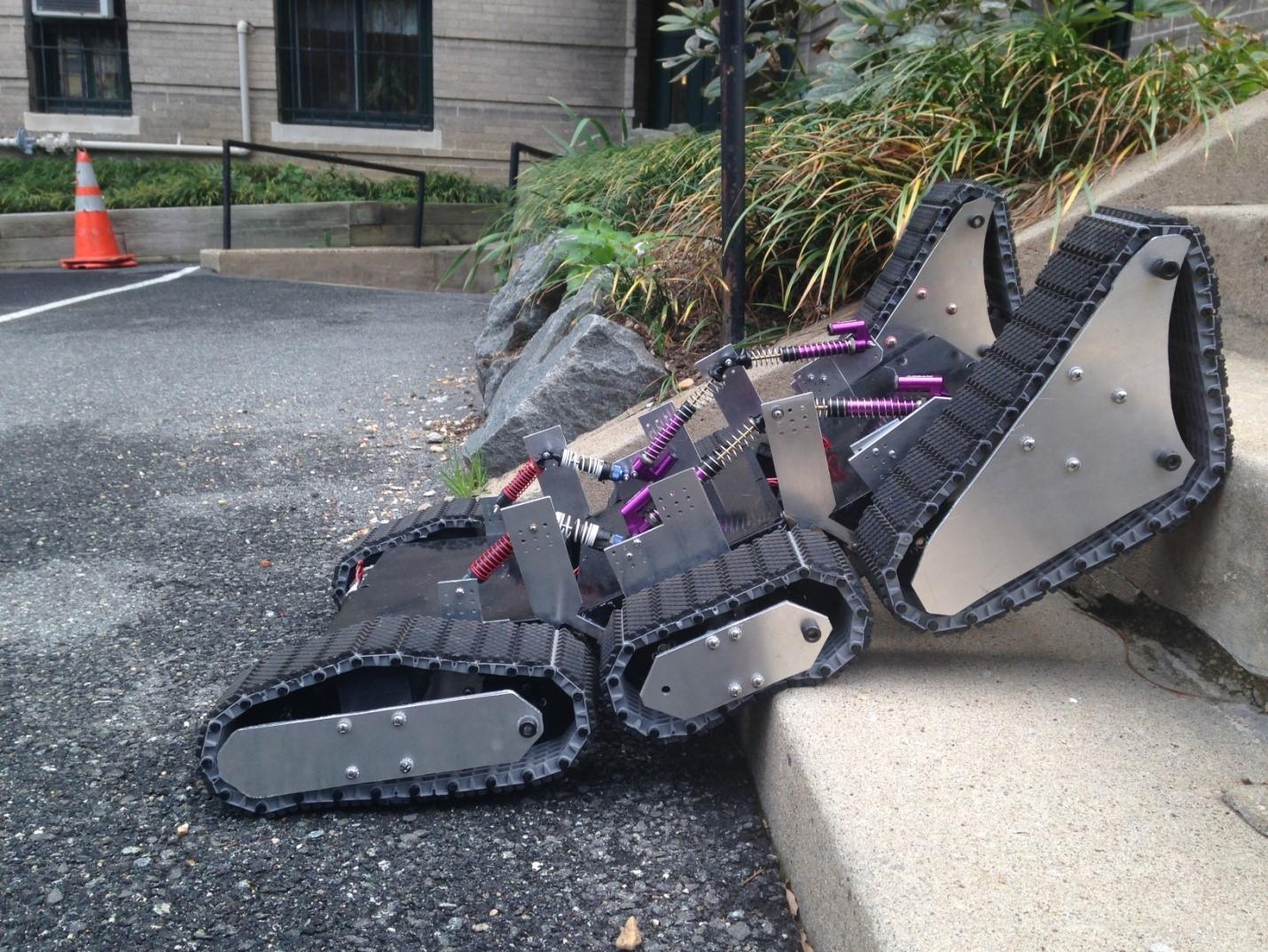 Наземные дроны: роботизированные шасси для городского использования