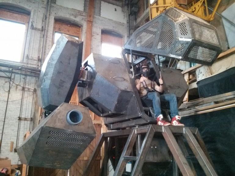 Megabots: Пейнтбол с гигантскими роботами