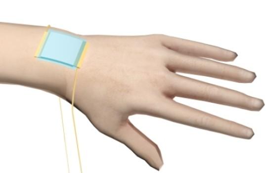 Новая «электронная кожа» определяет оказываемое на нее воздействие