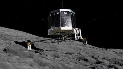 Филэ: доказательство концепции кометного приземления