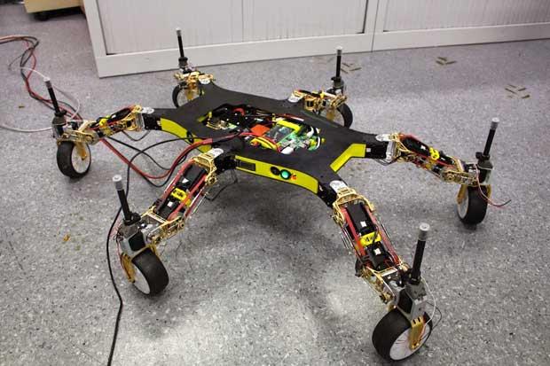 Creadapt: робот, который может передвигаться без конечностей!