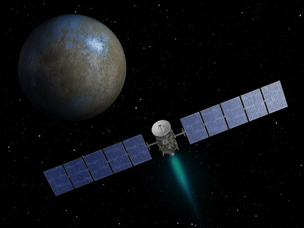 «Рассвет» вошел в историю, выйдя на орбиту карликовой планеты