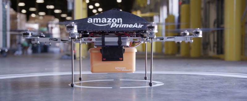 Большинство американцев ожидают доставку с помощью дронов в течение ближайших пяти лет