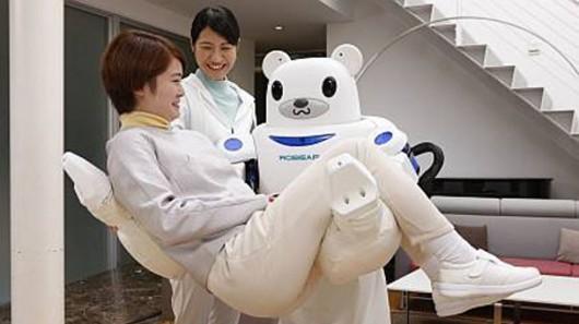 Robear разработан в помощь пожилому населению Японии