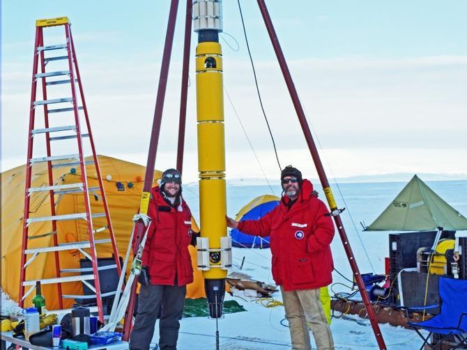 Новый робот заснял беспрецедентные кадры в водах Антарктики