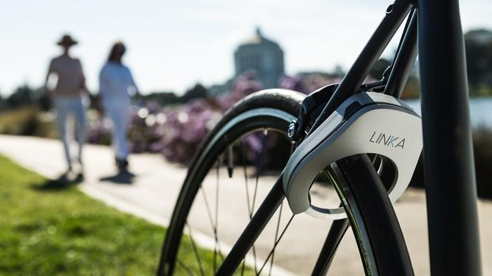 ЛИНКА – первый автоматический мини замок для велосипедов.