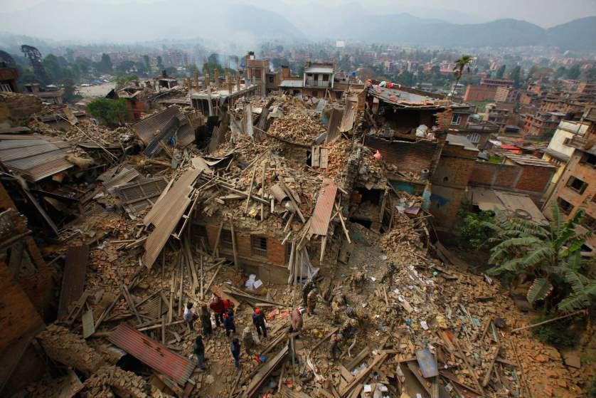 Землетрясение в Непале – дроны помогают в спасательных операциях