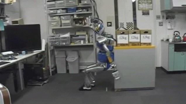Робот, который действует как человек – впечатляющее зрение