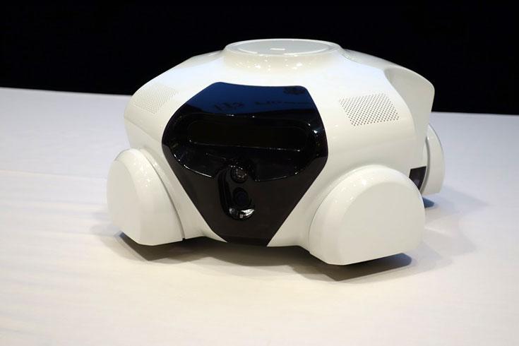 Специализацию домашнего робота Flower Robotics Patin можно будет менять с помощью сменных функциональных блоков