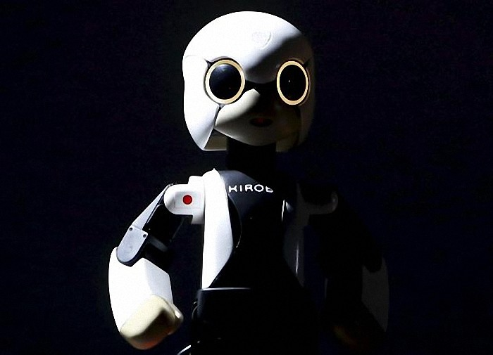 "Humanoid communication robot Kirobo appears on stage during a return debriefing session from the International Space Station to Japan, in Tokyo in this March 27, 2015 file photo. Three-fourths of robot installations over the next decade are expected to be concentrated in four areas: transportation equipment, including the automotive sector; computer and electronic products; electrical equipment and machinery. Labor costs have climbed in countries such as China that have been popular for outsourcing production, while technological advances for robots allow them to be more flexible and perform more tasks.  REUTERS/Yuya Shino/Files ATTENTION EDITORS - THIS PICTURE IS PART OF THE PACKAGE ""RISE OF THE MACHINES"". TO FIND ALL 20 IMAGES SEARCH 'TECHNOLOGY ROBOTS'."