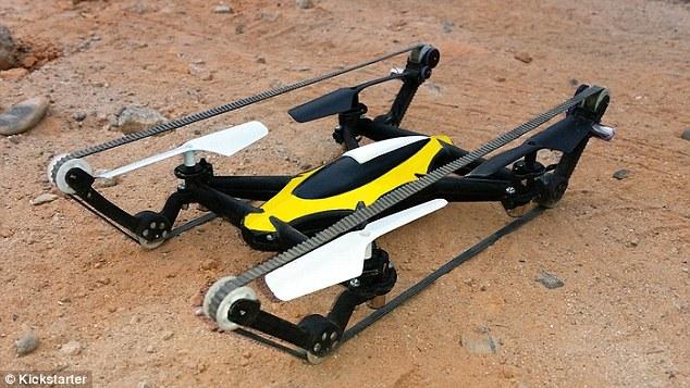 Летающий танк и дрон B-Unstoppable – запуск проекта на Kickstarter