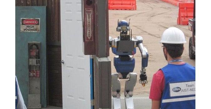 Корейский робот выиграл $ 2 млн. на DARPA Challenge