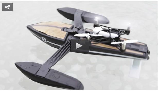 «Пэррот» представляет дрон на подводных крыльях