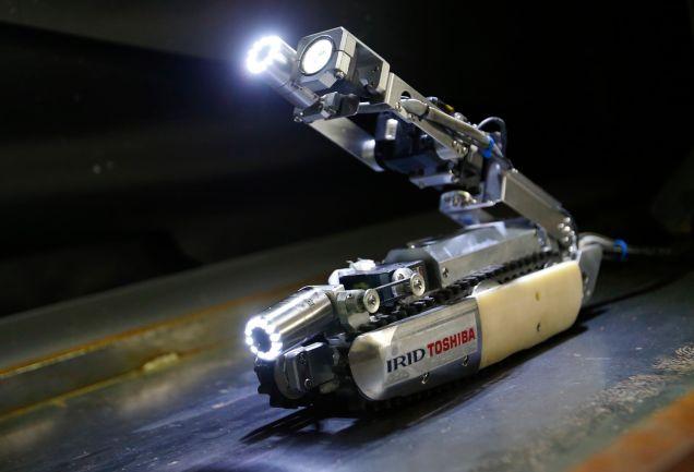Этим летом новый робот «Скорпион» будет обследовать реакторы на Фукусиме