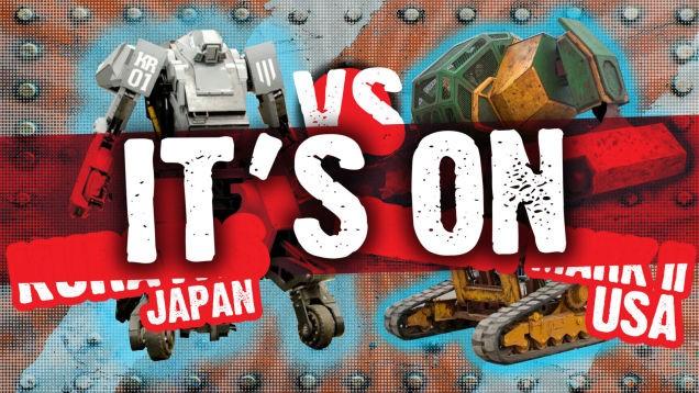 Начало положено: Япония приняла вызов на бой среди роботов-гигантов