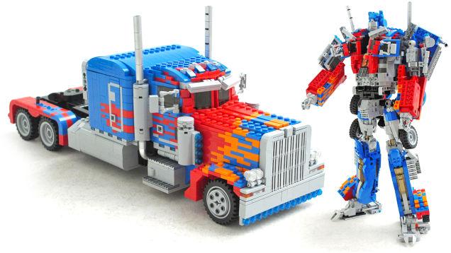 Трансформация Optimus Prime нарушает законы физики