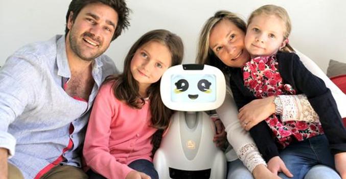 Робот Бадди хочет стать компаньоном вашей семьи