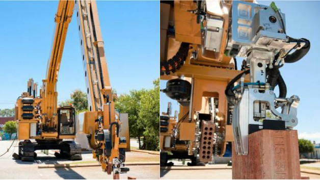 Робот «Адриан» может возвести дом из кирпича за два дня