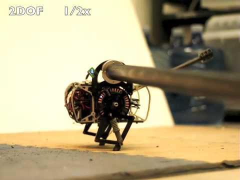 Jerboa – робот-прыгун, созданный по образу тушканчика