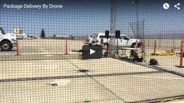 Доставка грузов с помощью дронов