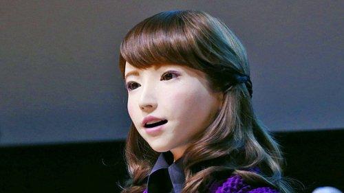 Erica — новый фотореалистичный японский робот-андроид