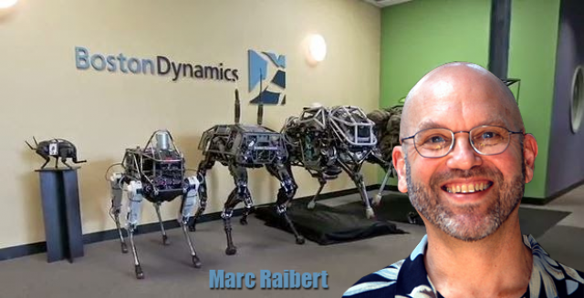 Dr. Mark Raibert рассказал о развитии роботов в Boston Dynamics