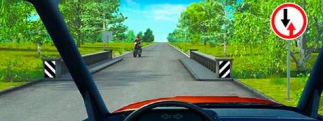 Исследование: как должны вести себя беспилотные авто на узкой дороге?