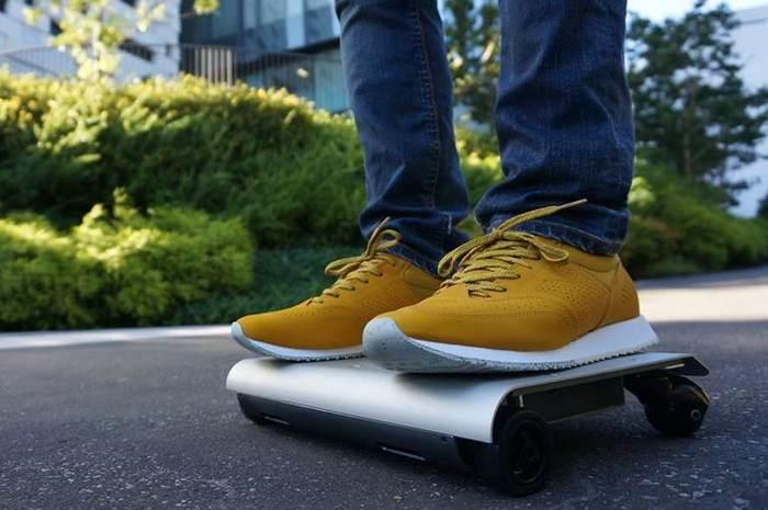 WalkCar — транспортное средство размером с ноутбук