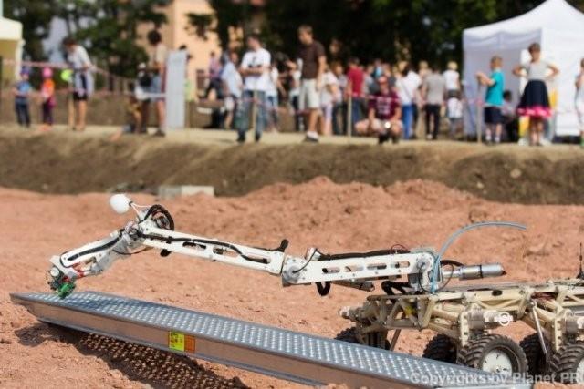 В Польше прошли состязания марсоходов European Rover Challenge 2015