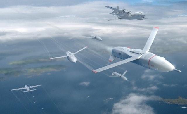 DARPA Gremlin – проект роя дронов сбрасываемых и собираемых самолетом