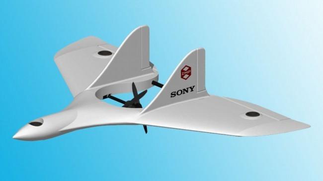 Дрон от компании Sony сочетает в себе преимущества самолета и вертолета